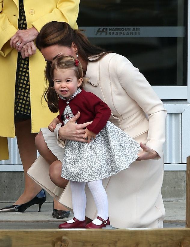 Princess Charlotte in Canada, 2016.