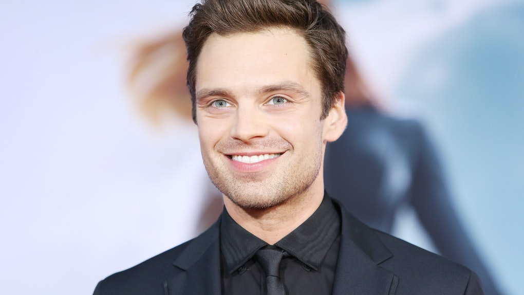 "HOLLYWOOD, CA - MARCH 13:  Sebastian Stan arrives at the Los Angeles premiere of ""Captain America: The Winter Soldier"" held at the El Capitan Theatre on March 13, 2014 in Hollywood, California.  (Photo by Michael Tran/FilmMagic)"