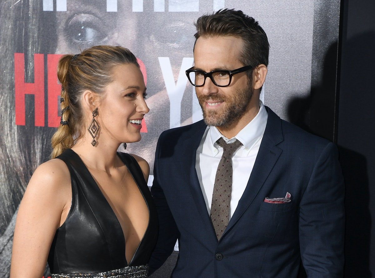 Blake Lively and Ryan Reynolds attend the Paramount Pictures premiere for 'A Quiet Place' at AMC Lincoln Square Theater on April 2, 2018 in New York City. / AFP PHOTO / ANGELA WEISS        (Photo credit should read ANGELA WEISS/AFP via Getty Images)