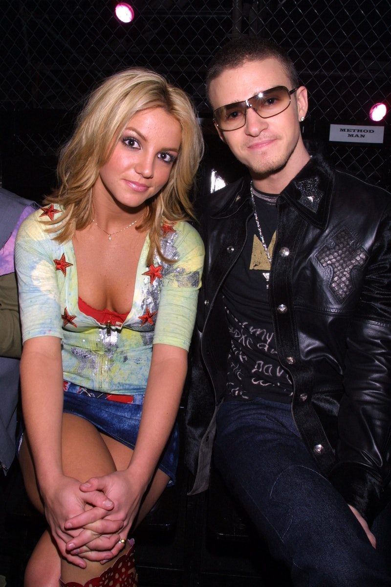 (EXCLUSIVE, Premium Rates Apply) Britney Spears and Justin Timberlake (Photo by Kevin Mazur/WireImage)