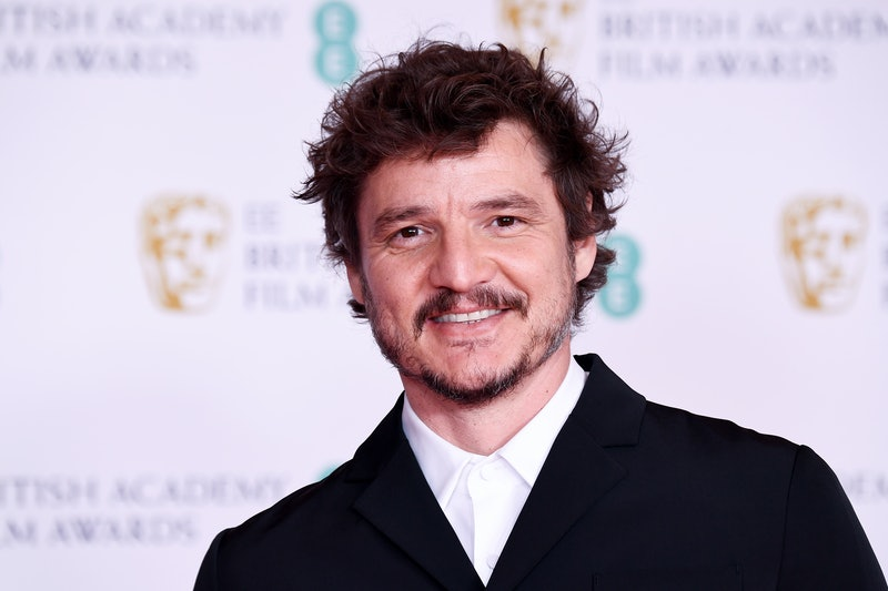 LONDON, ENGLAND - APRIL 11: Awards Presenter Pedro Pascal attends the EE British Academy Film Awards 2021 at the Royal Albert Hall on April 11, 2021 in London, England. (Photo by Jeff Spicer/Getty Images)
