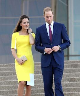 SYDNEY, AUSTRALIA - APRIL 16:  Prince William, Duke of Cambridge and Catherine, Duchess of Cambridge...