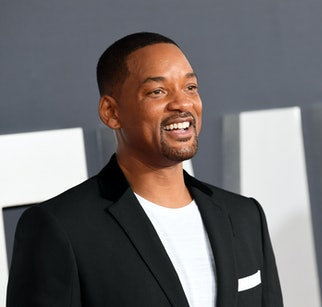 """HOLLYWOOD, CALIFORNIA - OCTOBER 06: Will Smith attends Paramount Pictures' premiere of """"Gemini Man"""" on October 06, 2019 in Hollywood, California. (Photo by Kevin Winter/Getty Images)"""