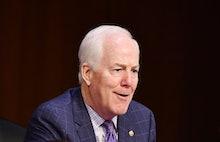 Senator John Cornyn (R-TX) speaks during the Senate Judiciary Committee on the fourth day of hearing...