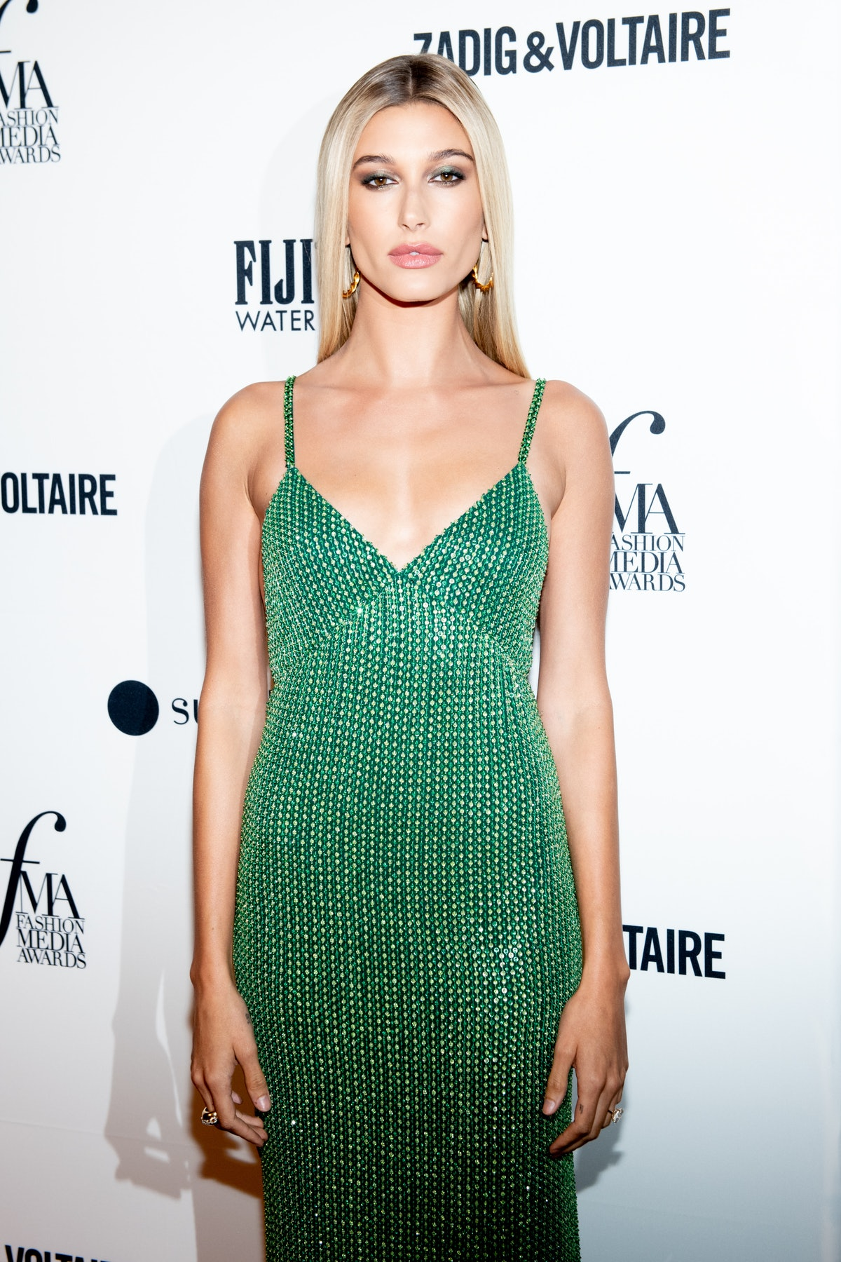 NEW YORK, NY - SEPTEMBER 06:  Hailey Baldwin attends The Daily Front Row 6th Annual Fashion Media Aw...