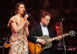 "Mandy Moore and Taylor Goldsmith perform at 20th Century Fox Television and NBC Present ""This Is Us"" FYC Event at John Anson Ford Amphitheatre on June 06, 2019 in Hollywood, California. (Photo by Rachel Luna/Getty Images)"