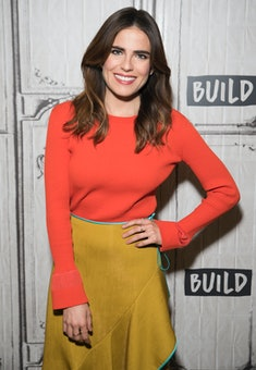 """NEW YORK, NY - FEBRUARY 15:  Karla Souza attends AOL Build Series to disucss """"How to Get Away with Murder"""" at Build Studio on February 15, 2017 in New York City.  (Photo by Jenny Anderson/WireImage)"""