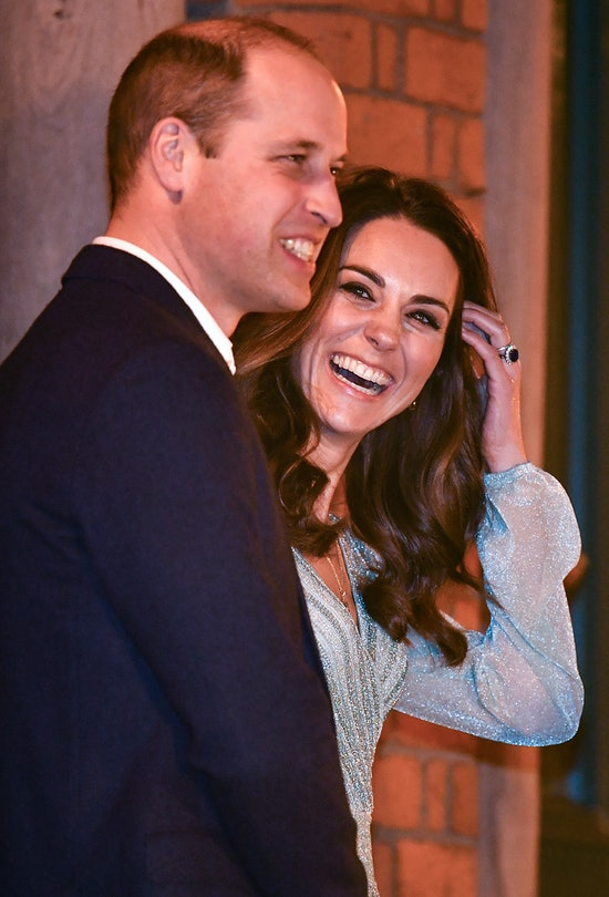 BELFAST, NORTHERN IRELAND - FEBRUARY 27: Prince William, Duke of Cambridge and Catherine, Duchess of...