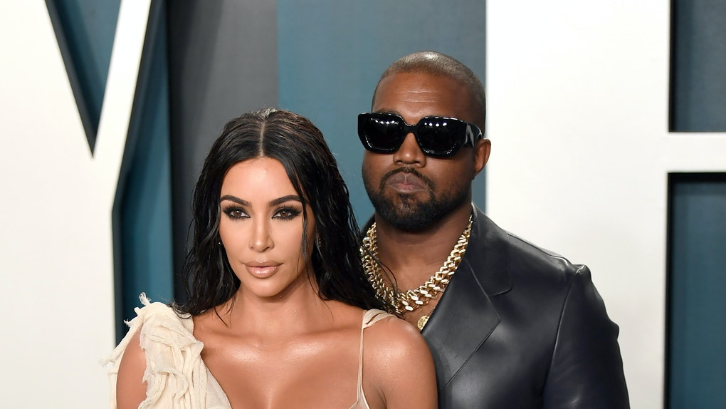 BEVERLY HILLS, CALIFORNIA - FEBRUARY 09: Kim Kardashian and Kanye West attend the 2020 Vanity Fair Oscar Party hosted by Radhika Jones at Wallis Annenberg Center for the Performing Arts on February 09, 2020 in Beverly Hills, California. (Photo by Karwai Tang/Getty Images)