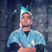 "1999 George Clooney Stars In Year 5 Of ""Er."" (Photo By Getty Images)"