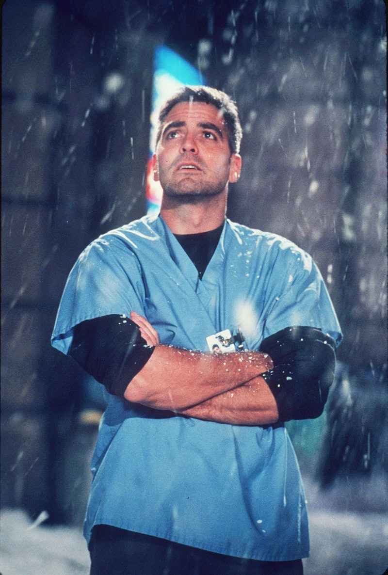 """1999 George Clooney Stars In Year 5 Of """"Er."""" (Photo By Getty Images)"""