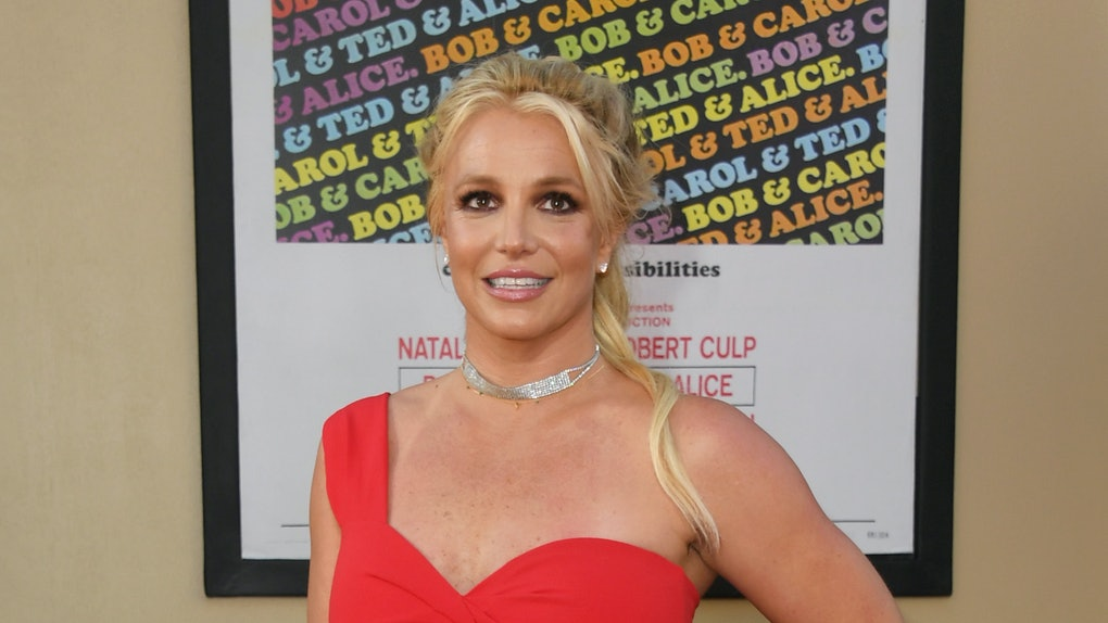 "HOLLYWOOD, CALIFORNIA - JULY 22:  Britney Spears attends Sony Pictures' ""Once Upon A Time...In Hollywood"" Los Angeles Premiere on July 22, 2019 in Hollywood, California. (Photo by Jon Kopaloff/FilmMagic)"