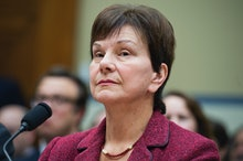 UNITED STATES - FEBRUARY 04: Janet Woodcock of the FDA, appears before a House Oversight and Governm...