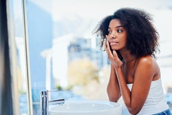 Your hormones really go haywire after weaning and can cause oil buildup that creates pimples.