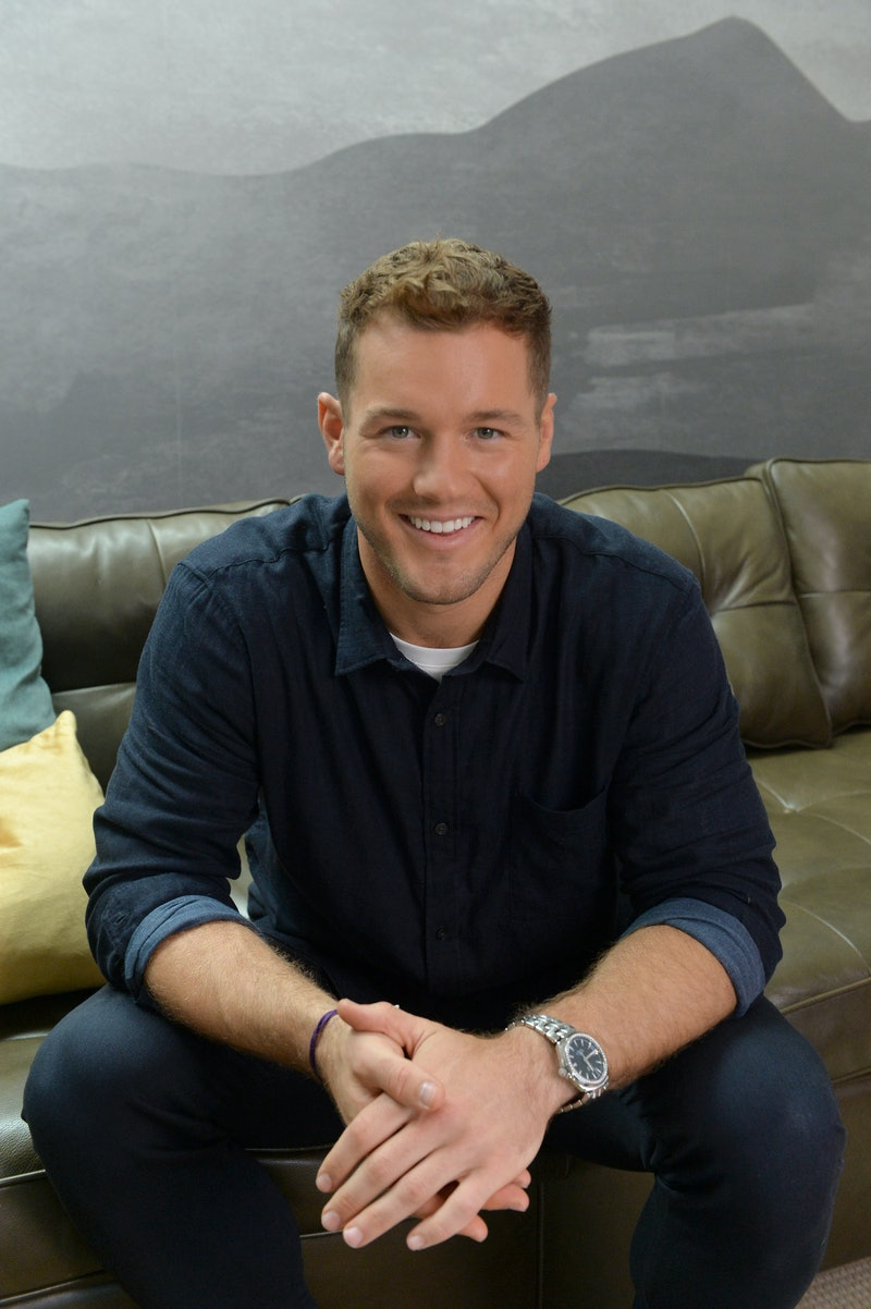 MAR VISTA, CALIFORNIA - OCTOBER 08: Colton Underwood stars in a new ad campaign for Tubi, the worlds largest free movie and TV streaming service on October 08, 2019 in Mar Vista, California. (Photo by Jerod Harris/Getty Images for Tubi)