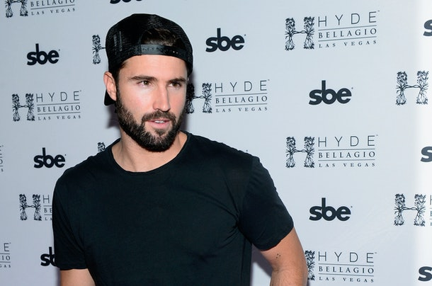 """LAS VEGAS, NV - DECEMBER 30:  Television personality Brody Jenner arrives at Hyde Bellagio at the Bellagio to host """"Infamous Wednesdays"""" on December 30, 2015 in Las Vegas, Nevada.  (Photo by Bryan Steffy/Getty Images for Hyde Bellagio)"""