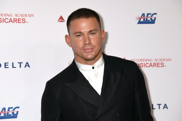 LOS ANGELES, CALIFORNIA - JANUARY 24: Channing Tatum attends MusiCares Person of the Year honoring Aerosmith at West Hall at Los Angeles Convention Center on January 24, 2020 in Los Angeles, California. (Photo by Jeff Kravitz/FilmMagic)