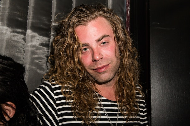 LOS ANGELES, CA - APRIL 24:  Rapper Mod Sun poses backstage at El Rey Theatre on April 24, 2014 in Los Angeles, California.  (Photo by Chelsea Lauren/WireImage)