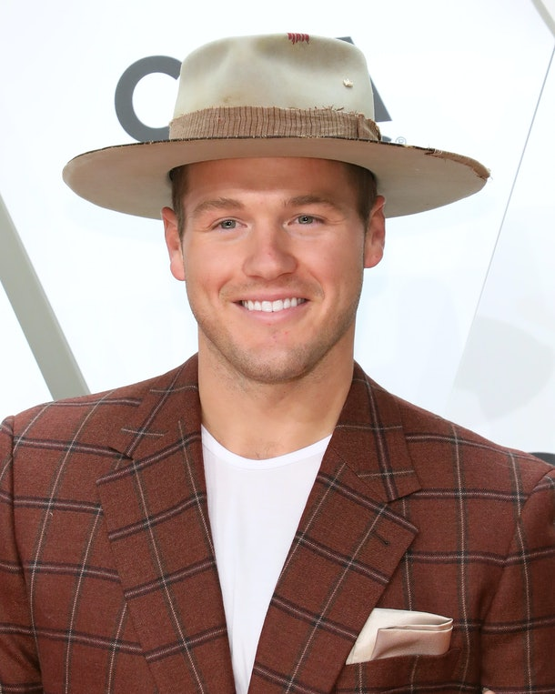 NASHVILLE, TENNESSEE - NOVEMBER 13: (FOR EDITORIAL USE ONLY)  Colton Underwood attends the 53nd annual CMA Awards at Bridgestone Arena on November 13, 2019 in Nashville, Tennessee. (Photo by Taylor Hill/Getty Images)