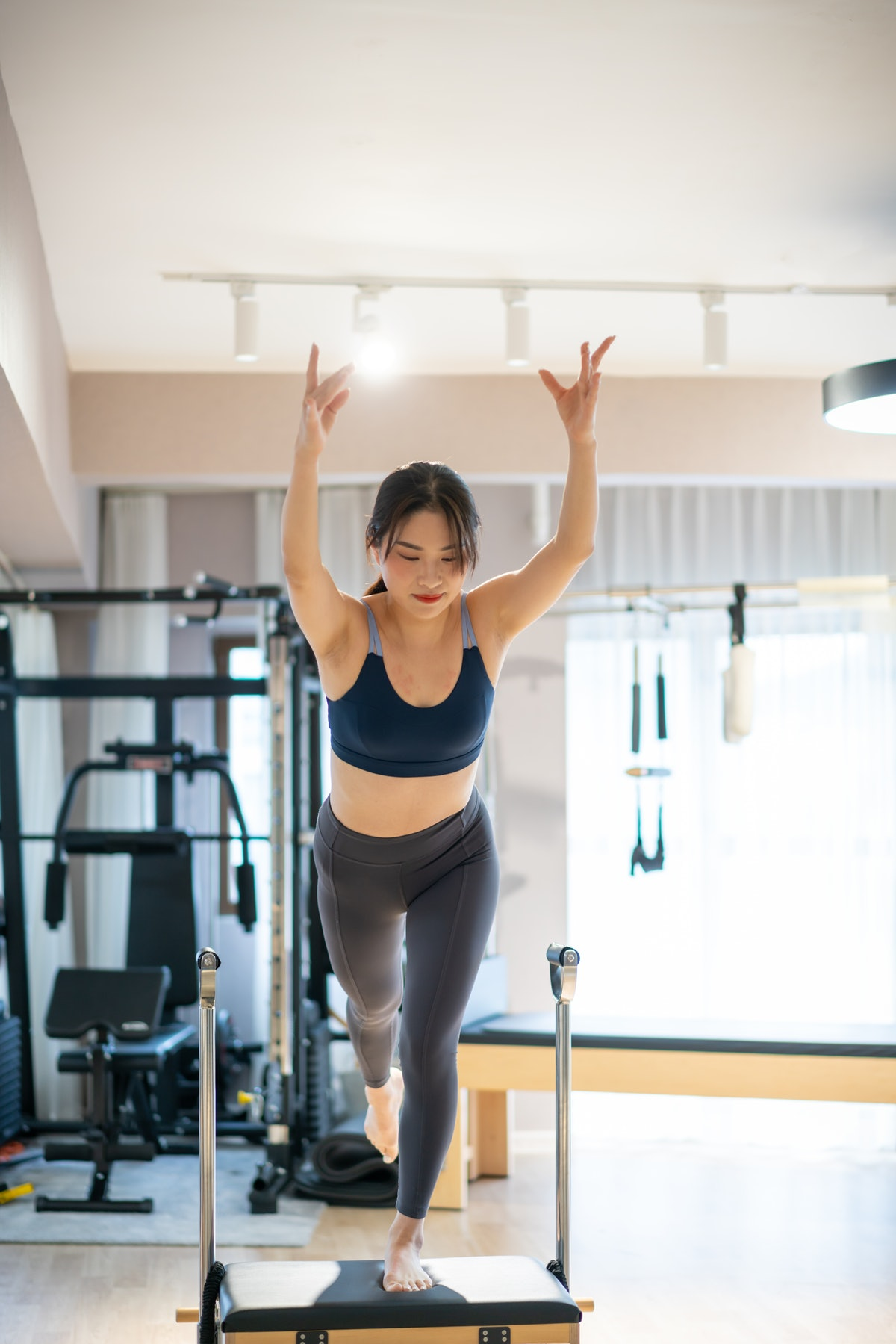Try Pilates on or off a machine to make the workout work for you.