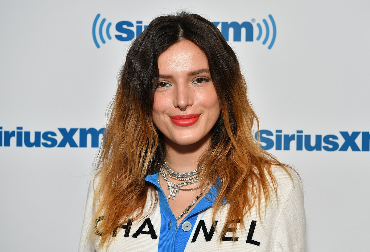 NEW YORK, NY - JUNE 14:  (EXCLUSIVE COVERAGE) Actress/singer Bella Thorne visits SiriusXM Studios on...