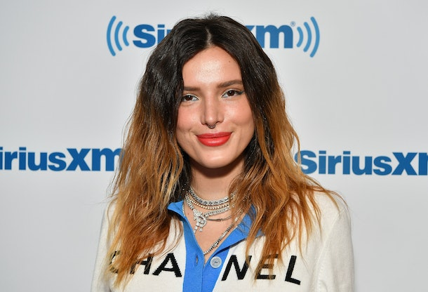 NEW YORK, NY - JUNE 14:  (EXCLUSIVE COVERAGE) Actress/singer Bella Thorne visits SiriusXM Studios on June 14, 2019 in New York City.  (Photo by Slaven Vlasic/Getty Images)