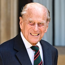 WINDSOR, ENGLAND - JULY 22: Prince Philip, Duke of Edinburgh during the transfer of the Colonel-in-Chief of The Rifles at Windsor Castle on July 22, 2020 in Windsor, England. The Duke of Edinburgh has been Colonel-in-Chief of The Rifles since its formation in 2007. HRH served as Colonel-in-Chief of successive Regiments which now make up The Rifles since 1953. The Duchess of Cornwall was appointed Royal Colonel of 4th Battalion The Rifles in 2007. (Photo by Samir Hussein/WireImage )