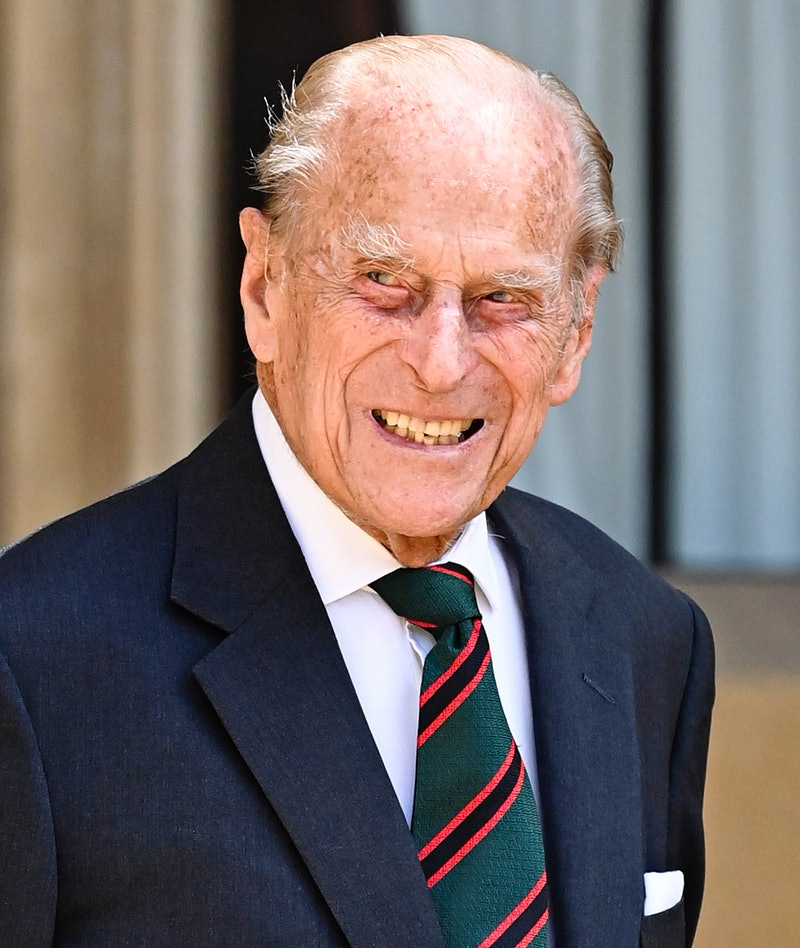 WINDSOR, ENGLAND - JULY 22: Prince Philip, Duke of Edinburgh during the transfer of the Colonel-in-C...