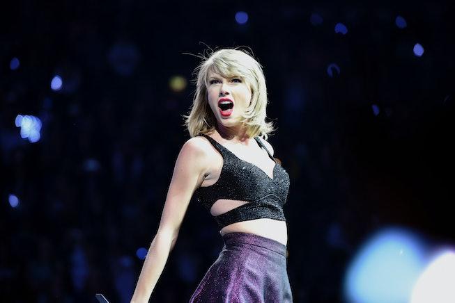 "(GERMANY OUT) Taylor Alison Swift (* 13. Dezember 1989 in Reading, Pennsylvania), Amerikanische Sängerin) ""1989""-TourLanxessArena Arena Köln (Photo by Brill/ullstein bild via Getty Images)"