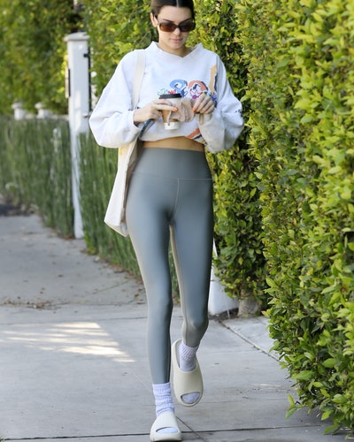 LOS ANGELES, CA - MARCH 5:  Kendall Jenner seen arriving at her Pilates class on March 5, 2021 in Los Angeles, California. (Photo by MEGA/GC Images)