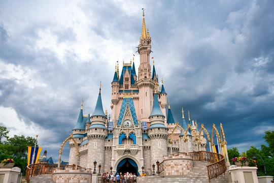 ORLANDO, FLORIDA, UNITED STATES - 2019/07/17: Cinderella Castle in Walt Disney World. (Photo by Robe...