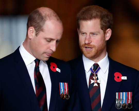 Prince Harry and Prince William will both wear morning suits at Prince Philip's funeral.