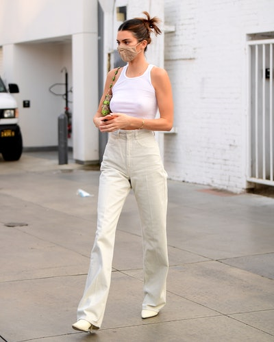 LOS ANGELES, CA - OCTOBER 7:  Kendall Jenner is seen on October 7, 2020 in Los Angeles, California. (Photo by Rachpoot/ASTRO/MEGA/GC Images)