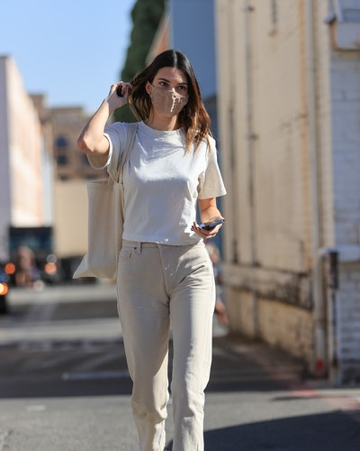 LOS ANGELES, CA - FEBRUARY 25: Kendall Jenner is seen on February 25, 2021 in Los Angeles, California. (Photo by Rachpoot/MEGA/GC Images)