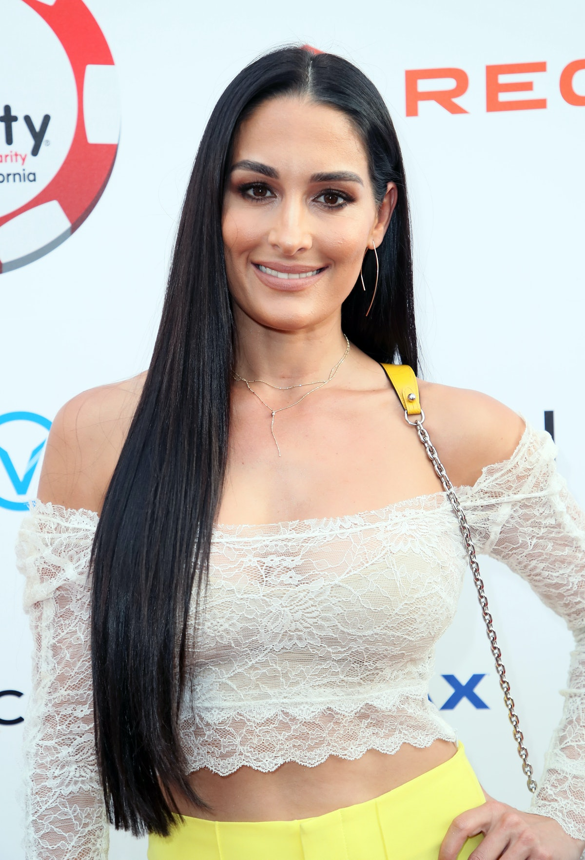 HOLLYWOOD, CALIFORNIA - JULY 24: Nikki Bella attends the 9th Annual Variety - The Children's Charity...