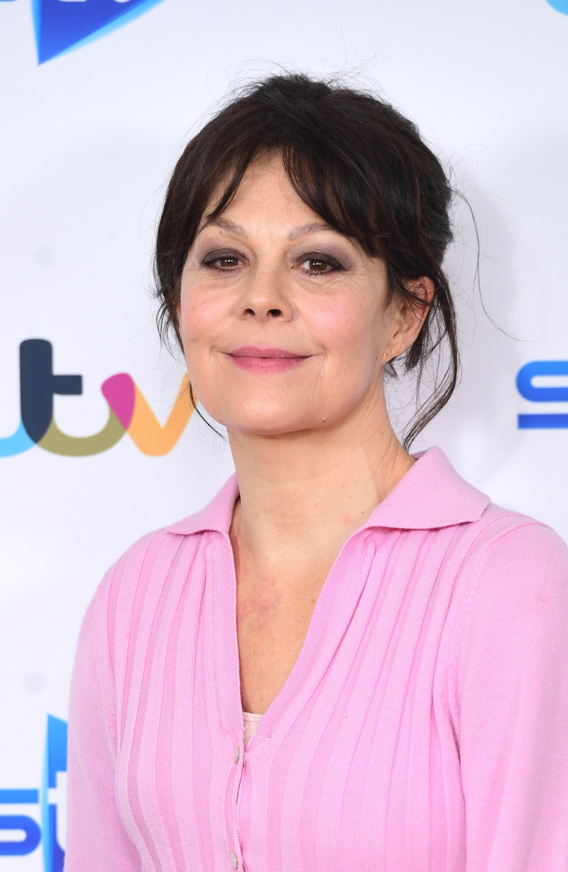 Helen McCrory attending a photocall for new ITV drama Quiz at the Soho Hotel in London. (Photo by Ian West/PA Images via Getty Images)