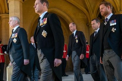 The royal family says goodbye to Prince Philip.