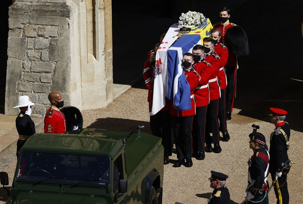 These photos from Prince Philip's funeral capture so many touching moments.