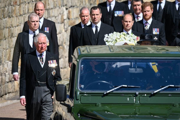 These photos from Prince Philip's funeral capture touching moments.