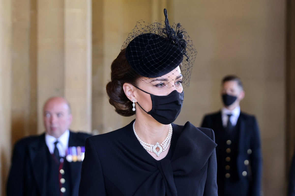 Kate Middleton's jewelry at Prince Philip's funeral carried a special meaning about her support for ...