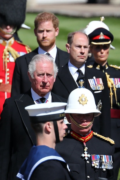Prince Harry paid tribute to his grandfather.