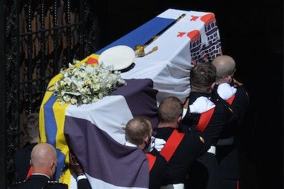 Queen Elizabeth chose Prince Philip's funeral wreath herself.
