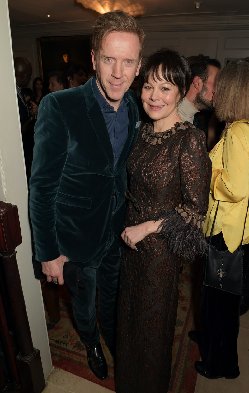 LONDON, ENGLAND - FEBRUARY 01:    Damian Lewis and Helen McCrory attend the Charles Finch & CHANEL P...