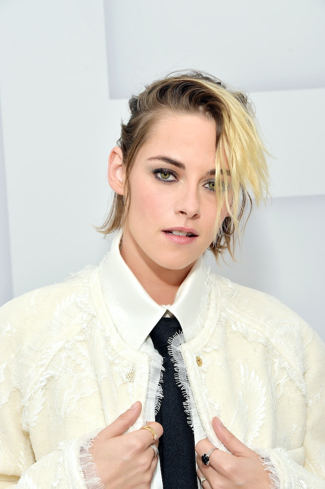 BEVERLY HILLS, CALIFORNIA - OCTOBER 06: Kristen Stewart virtually attends the Chanel Womenswear Spring Summer 2021 held at the Grand Palais on October 06, 2020 in Paris, France. (Photo by Stefanie Keenan/Getty Images for CHANEL)