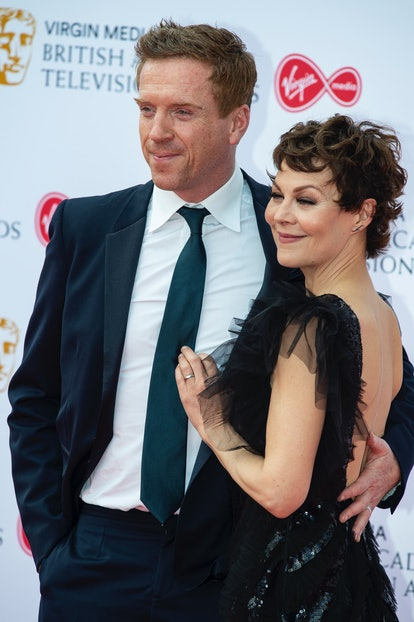 LONDON, UNITED KINGDOM - 2019/05/12: Damian Lewis (L) and Helen McCrory are seen on the red carpet d...