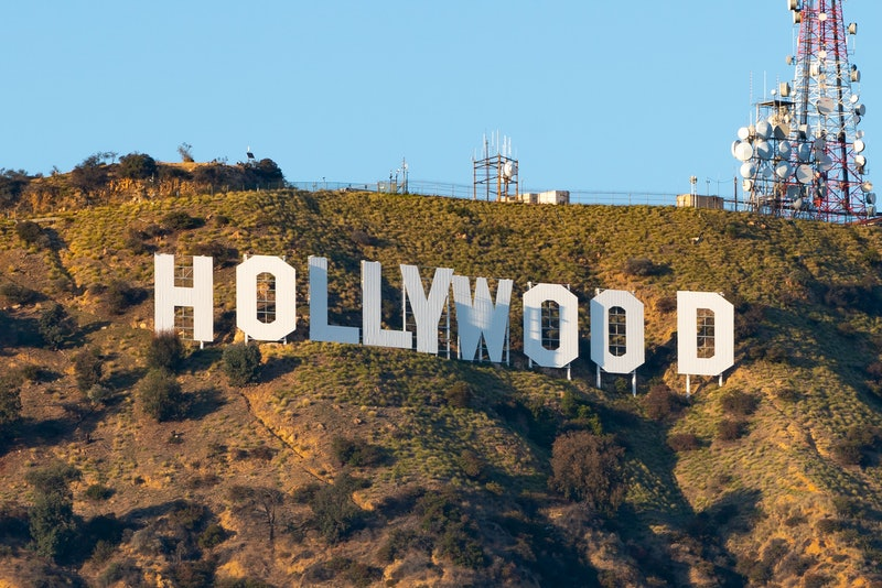 HOLLYWOOD, CA - MARCH 04: General views of the Hollywood Sign on March 04, 2021 in Hollywood, California.  (Photo by AaronP/Bauer-Griffin/GC Images)