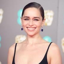 LONDON, ENGLAND - FEBRUARY 02: Emilia Clarke attends the EE British Academy Film Awards 2020 at Roya...