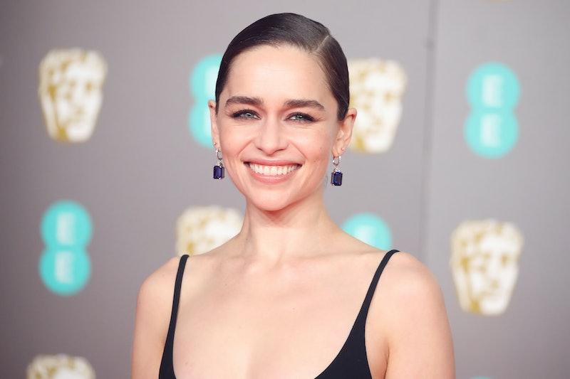 LONDON, ENGLAND - FEBRUARY 02: Emilia Clarke attends the EE British Academy Film Awards 2020 at Royal Albert Hall on February 02, 2020 in London, England. (Photo by Mike Marsland/WireImage )