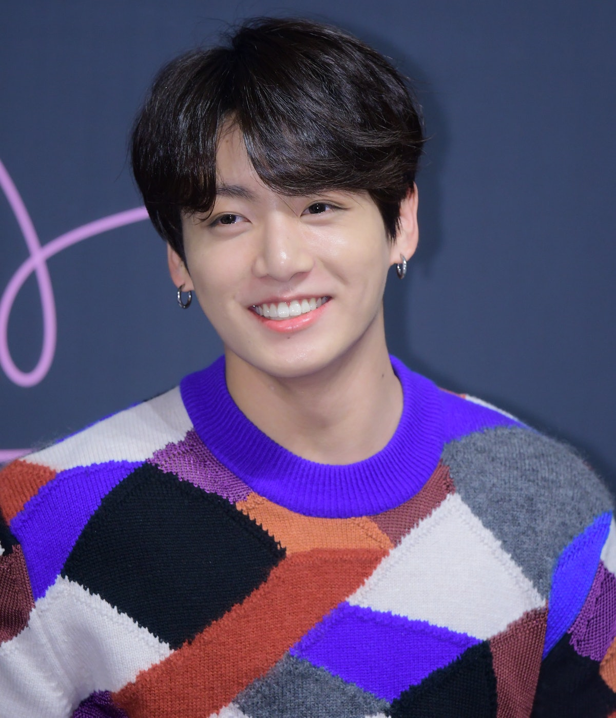 SEOUL, SOUTH KOREA - MAY 24: Jungkook of BTS attends press conference for the BTS's Third Album 'LOV...