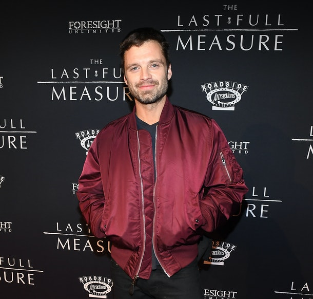 "ATLANTA, GEORGIA - JANUARY 20:  Sebastian Stan attends ""The Last Full Measure"" Atlanta red carpet screening at SCADshow on January 20, 2020 in Atlanta, Georgia. (Photo by Paras Griffin/Getty Images for Roadside Attractions )"